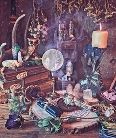 Tell me about a tarot card you recently drew for the day that hit your situation spot on and gave you some illumination. It happened to me… Witch Decor, Witch Art, Witch Room, Witch Aesthetic, Aesthetic Painting, Aesthetic Drawing, Aesthetic Art, Baby Witch, Book Of Shadows