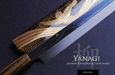 See our selection of Japanese handcrafted blue steel chef knives forged with high-carbon steel for added sharpness or visit our showroom in Beverly Hills. For More Information Please Visit Our Web Site: http://www.echefknife.com/