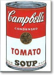 Refrigerator Magnets - Tomato Soup Fridge Magnet - FunkyFridge.com