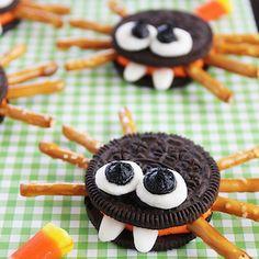 Comida De Halloween Ideas, Halloween Snacks For Kids, Halloween Baking, Halloween Desserts, Halloween Food For Party, Cute Halloween, Halloween Treats, Haloween Snacks, Oreo