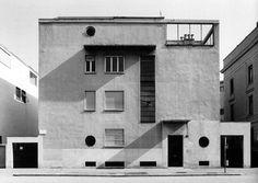 """wmud:  """"gio ponti - casa laporte, via benedetto brin 12, milano, 1935-36  """""""