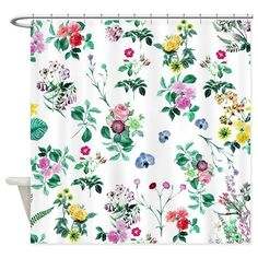 Shop Pretty Floral Art Shower Curtain designed by Kassy. Lots of different size and color combinations to choose from. Stretched Canvas Prints, Canvas Art Prints, Coaster Set, Wrapped Canvas, Delicate, Bloom, Tapestry, Abstract, Floral