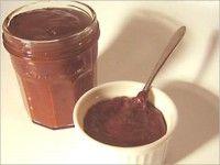 Chocoladepasta.   Zelfgemaakte chocoladepasta.  Makkelijk te maken, vers en goedkoop.