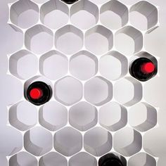 hexagonal wine rack - Google Search
