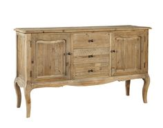 French Washed Commode W:60.75 x D:19.5 x H:36.5Furniture Classics