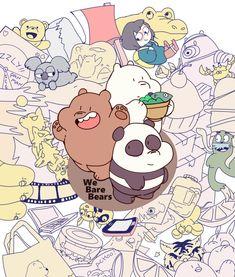 We Bare Bears -Grizz & Panda & Ice Bear