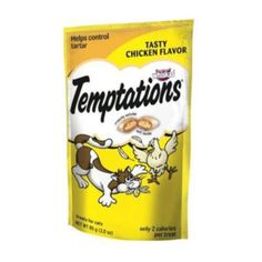 I'm learning all about Whiskas Temptations - Chicken, 3 oz at @Influenster!