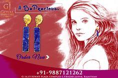 Buy Stylish, Designer, Trendy, Studded Precious Earrings from Goyal Jewellers in Jaipur 📞Call Now- +91-9887121262 #BestJewellersinJaipur #JewellersinJaipur #FashionJewellery #SilverJewellery #Jaipur #Rajasthan #gemstonejewellery #diamondjewellery #earrings #rings #bangles #pendants #bracelet