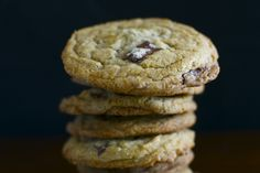 Coconut Chocolate Chip Cookies (uses coconut oil instead of butter)
