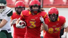 Adam Laurensse DB...University of Calgary Dinos