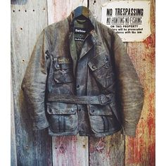 """gersaintbeaupre: """"#BARBOUR #VINTAGE #MOTORCYCLE CLOTHING #GOOD CONDITIONS #BASICS #WAX JACKET #INTERNATIONAL """""""