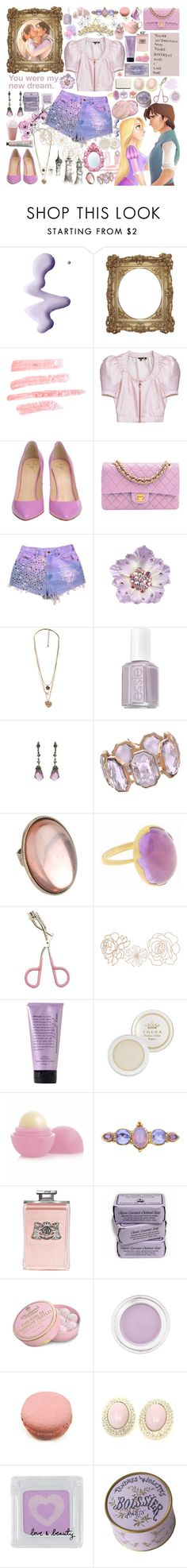 """""""and at last i see the light..."""" by juicyjams ❤ liked on Polyvore featuring WALL, Topshop, Mulberry, Giuseppe Zanotti, Tarina Tarantino, Forever 21, Essie, Karlsson, Irene Neuwirth and Annette Ferdinandsen"""