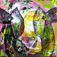 Dutch visual artist Anita Ammerlaan graduated from the Academy of Fine Arts, Willem de Kooning Academy, in Rotterdam in 1999. www.anitaammerlaan.com Anita also paints these colorful cows on commission.