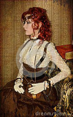 steampunk-victorian-girl