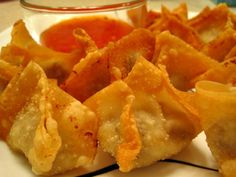A Stroll Thru Life: Holiday Appetizers - Won Tons