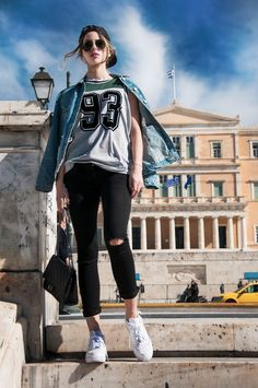 #muserebelle #streetstyle #athens #fashion #sneakers #ootd