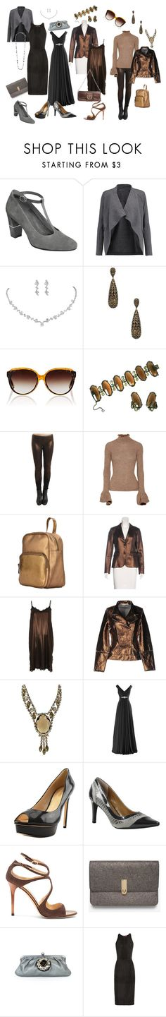 """""""Rachel's First and Second Base"""" by laura-winters-1 on Polyvore featuring Aerosoles, Majestic, Chanel, Jennifer Miller, Barton Perreira, Schiaparelli, Acne Studios, Corsia, rag & bone and River Island"""