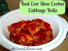 Pioneering Today Slow Cooker Cabbage Rolls Recipe