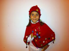 Blooming chuyo and scarf set/girls/baby by MondinCompany on Etsy, €85.00