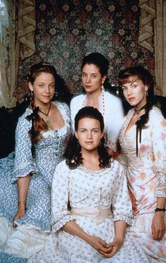 1995 The Buccaneers Carla Gugino, Alison Elliott, Mira Sorvino and Rya Kihlstedt