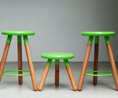 The spun bar stool complements the spun seating series with a comfortably spaced foot support in rolled steel tube. Each piece is carefully hand made by LifeSpaceJourney Design Furniture, Metal Furniture, Spin Bar, Green Bar Stools, Refurbished Chairs, Milking Stool, Love Chair, Hospitality Design, Cafe Restaurant