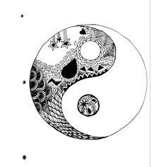 ying-yang doodle