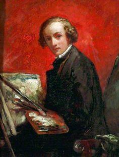 Self Portrait by John Everett Millais 1847