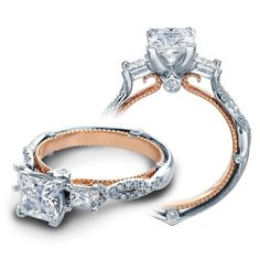 Verragio Couture ENG-0423PTT Prong Engagement Ring