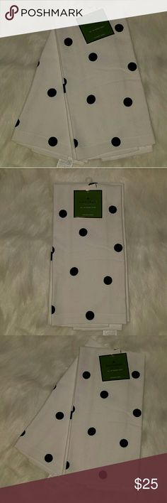 Kate spade kitchen towels polka dots New kate spade Accessories