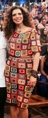 No programa Altas Horas, exibido pela Rede Globo de televisão, nesse sábado dia. 21/02/15  a cantora Vanessa da Mata apareceu vestindo um co...
