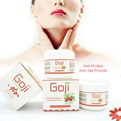 Hyaluronic acid goji face cream Chinese wolfberry medlar multi-effect anti-wrinkle cream Inhibit the activity of tyrosinase