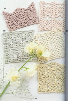Beautiful Pineapple  crochet patterns  ( with charts )...... many free patterns on site from a Japanese book