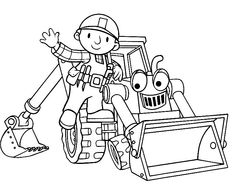 Bob The Builder Coloring Pages To Print