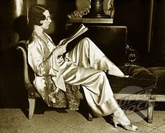 Relaxing on a chaise reading a good book
