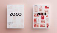 Nadadora, estudio de diseño. Cartel para Zoco, exposición colectiva.