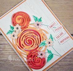 Sweet Friend Card using Stampin' Up! Swirly Bird Stamp