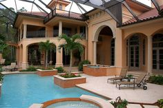 Custom Luxury Home - pool 7