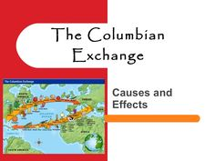 Power PointThe Columbian Exchange -  Causes and Effects 2012