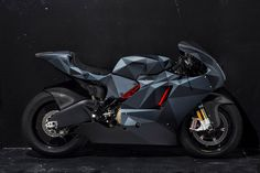 "Death Spray Customs ""Black Polygon"" Ducati Desmosedici RR"
