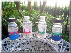 Mario Bros. Party Drink/Bubble Wraps
