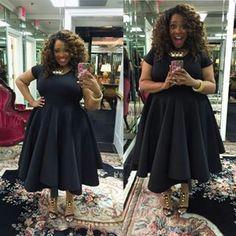Loving this dress on Gospel singer Kierra Sheard.