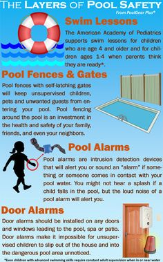 How to keep your swimming pool a safe place 365 days out of the year, not just during pool season. #dillweed