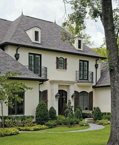 french countryside maison. french country house exterior, masonary