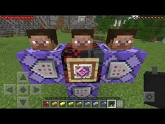 How To Make Running Armor Stands - MCPE 1 2 Command Block Creation