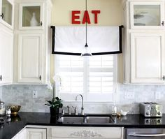 Our Fifth House: Accessorizing the Kitchen - 2 Cheap, Easy & Fast Projects