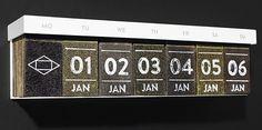 Tea Calendar. Brilliant