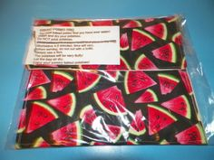WATERMELONS    microwave baked potato bags   by Georgia1Stringer, $7.00