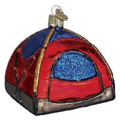 Dome Tent Ornament   Camping Ornament Old World Christmas Ornaments   Outdoorsmen Gift