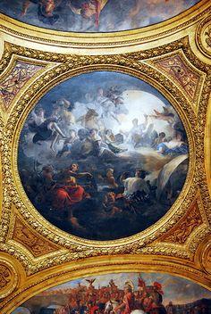 Plafond - Château de Versailles