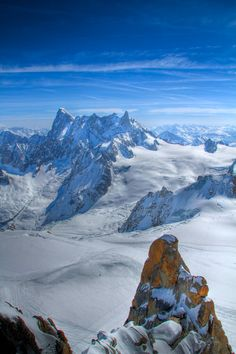 French Alps - Chamonix-Mont-Blanc, Rhone Alpes
